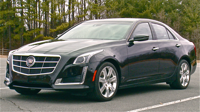 top sexy vehicles: cadillac cts