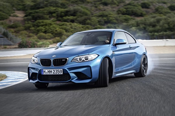 bmw sports coupe M2 2016