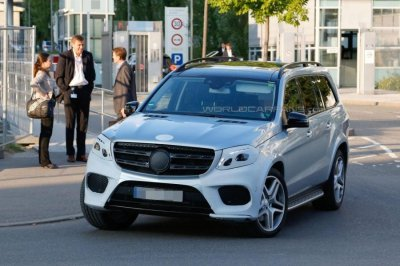 mercedes benz gls 2016