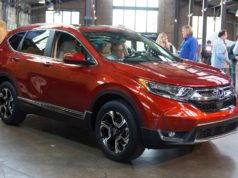 Honda updated the compact CR-V crossover